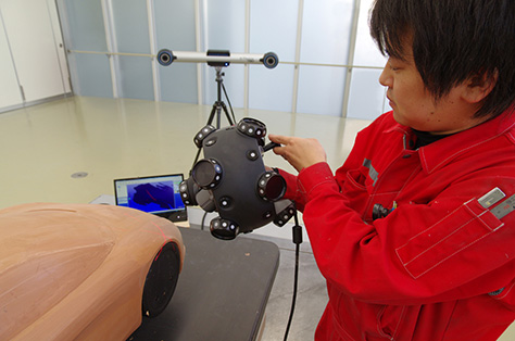MetraSCAN 3D 致力于为日本汽车和摩托车制造商简化设计和研发流程